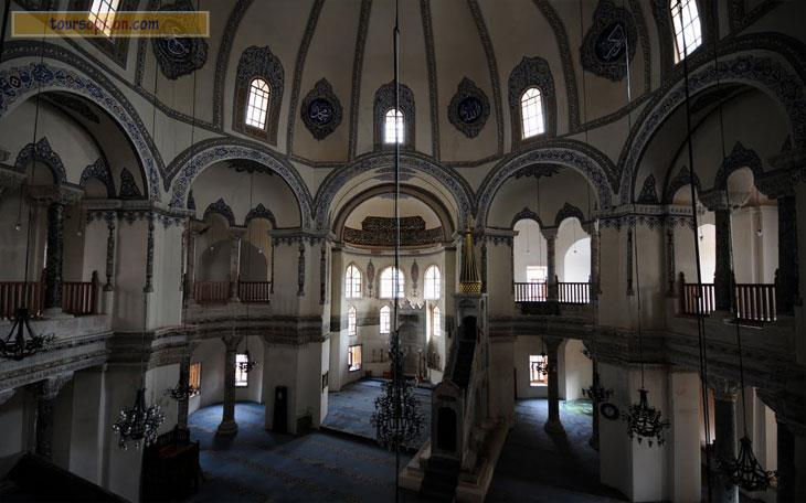 Little Hagia Sophia Mosque Inside