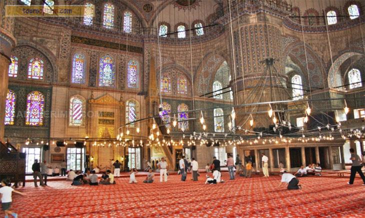 Blue Mosque Inside
