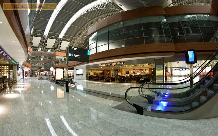 Sabiha Gokcen International Airport Inside
