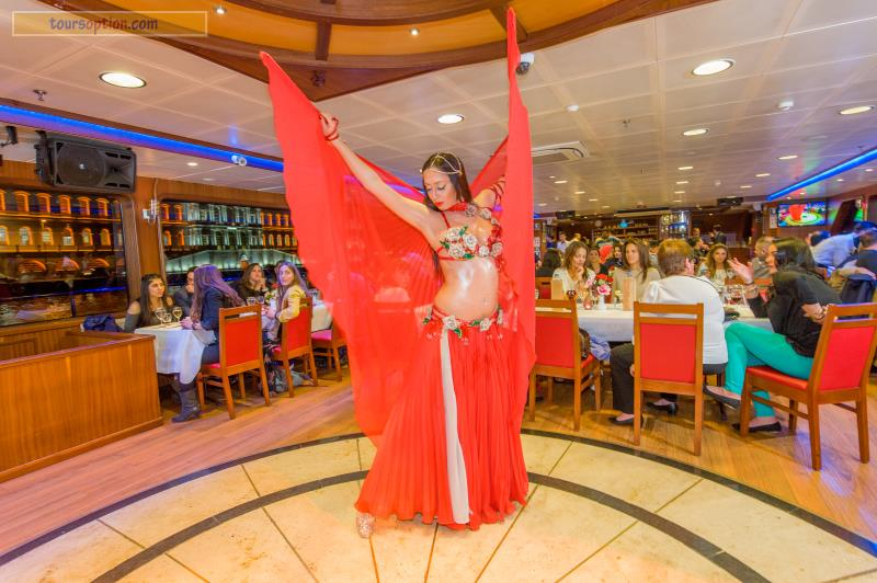 Belly Dancer In Bosphorus