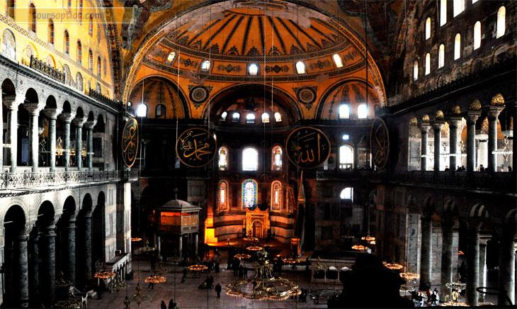 Istanbul sightseeing tour istanbul excursions for Architecture byzantine definition