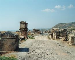 Hierapolis (ancient tombs) - Turkey