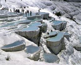 Pamukkale day trip from Istanbul by plane
